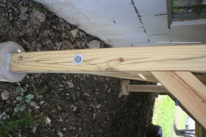help - pressure treated 4x4 deck posts splitting-img_0152.jpg