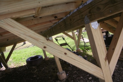 help - pressure treated 4x4 deck posts splitting-img_0154.jpg