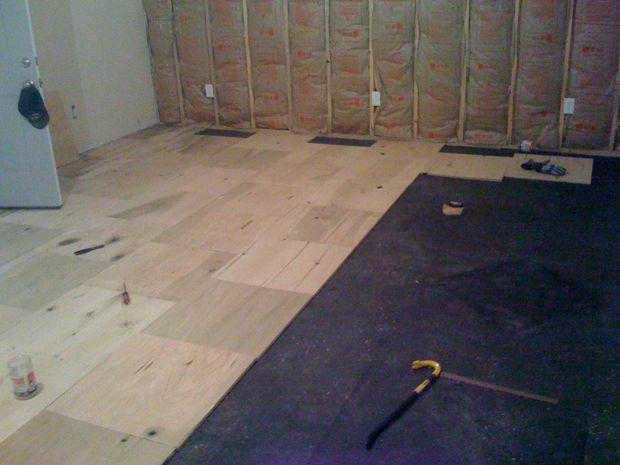 Carpet Floor Mats >> Plywood Over Concrete - Flooring - DIY Chatroom Home ...