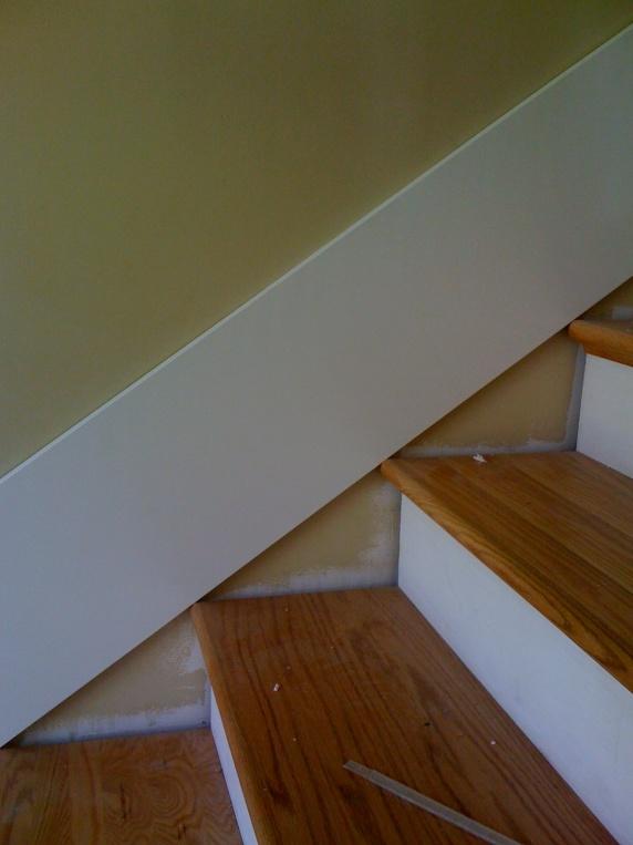 Superb Stairway Skirt Board Template   Easy Img_0168 ...