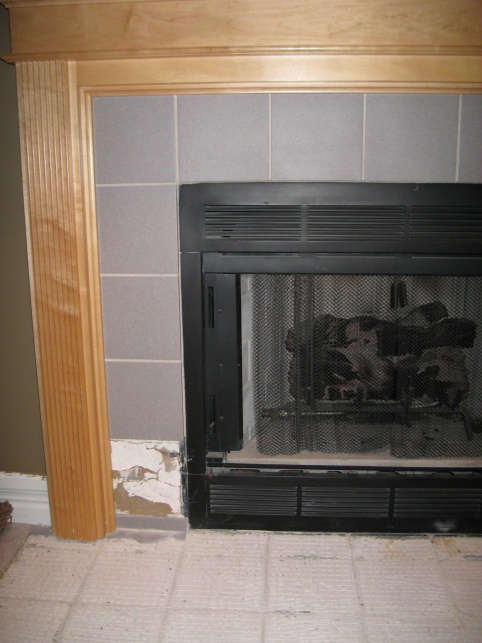 Replacing Fireplace Tile - Building & Construction - DIY Chatroom ...
