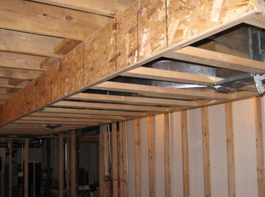 Framing Around Ductwork Remodeling Diy Chatroom Home