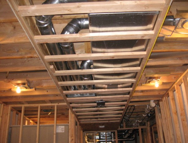 Framing Around Ductwork Remodeling Diy Chatroom Home