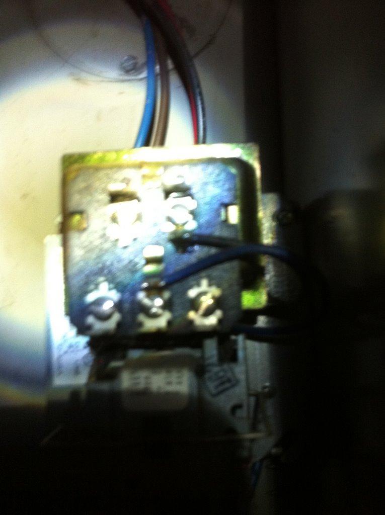 Wiring Fan Control Relay - Hvac