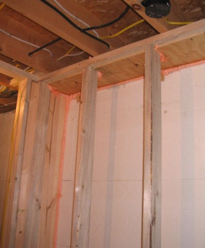 How Tight Is Too Tight For A New Basement Wall Building