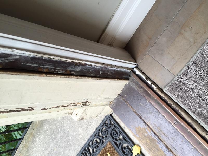 Upgrade Old Exterior Wood Door Weather Seal Windows And Doors