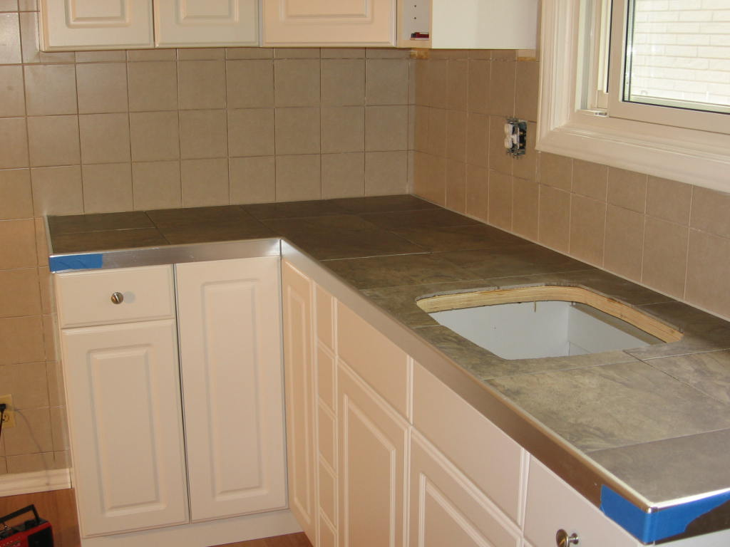 Ceramic Tile Counter Top - Tiling, ceramics, marble - DIY Chatroom