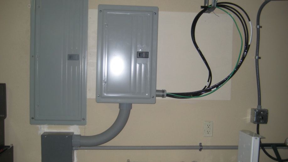 Adding A Sub Panel For Transfer Switch - Electrical - DIY ... on