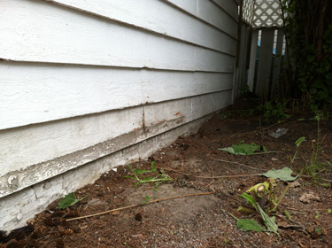 Rotten Sill Plate In Garage Repair Strategy Building