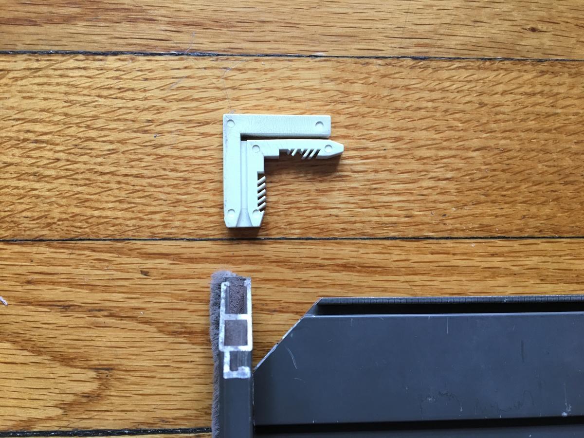 Window screen corner replacement windows and doors diy for Home window screen replacement