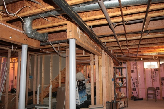 Suggestion For Framing Around Ductspipe In Basement Building - Framing a basement