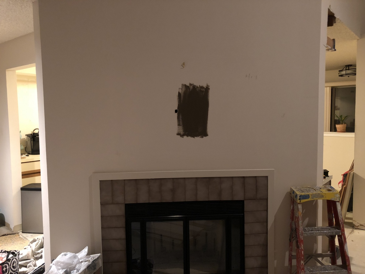 Installing Tv Over Fireplace Not Sure How To Get Power
