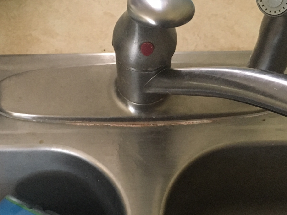 Kitchen Faucet Base Loose Plumbing