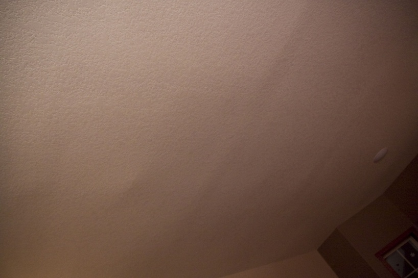 Ceiling Seams Very Noticeable New Construction Drywall
