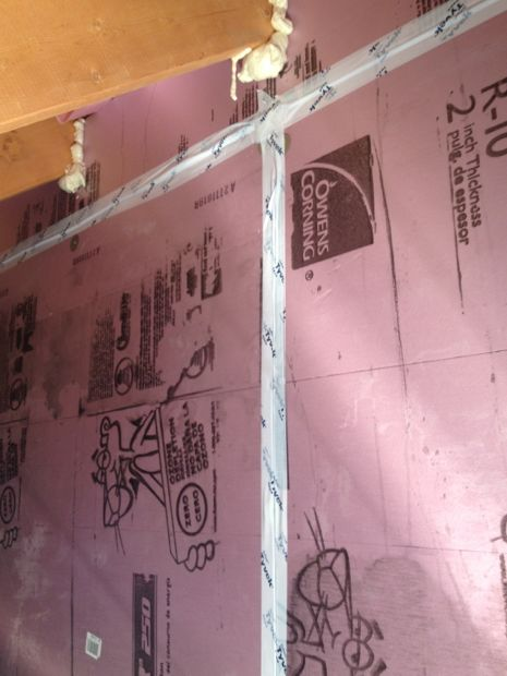 Knee Wall Insulation With Foam Panels Insulation Diy