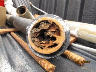 Cast Iron Sewer Pipe 1950s Plumbing Diy Home Improvement Diychatroom