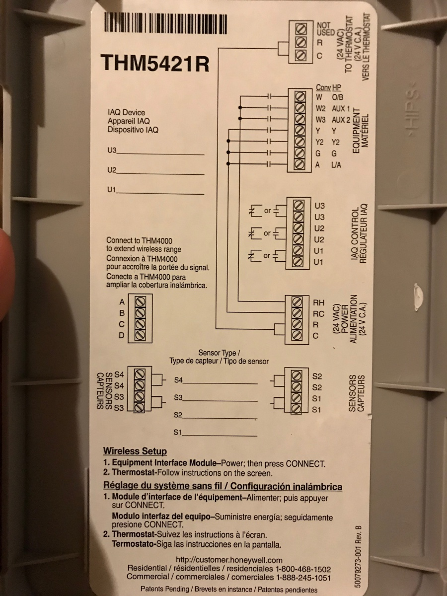 Old House Thermostat Wiring
