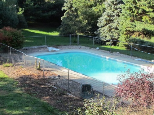 Filling In Our InGround Swimming Pool - Landscaping & Lawn ...