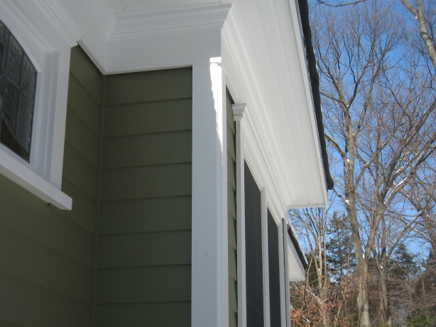 James Hardie Install On Gable Ends Roofing Siding Diy