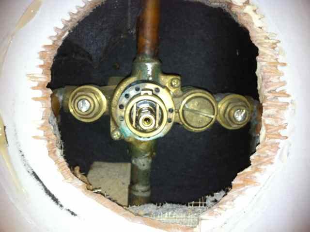 moen single valve shower handle problem - Moen Shower Handle