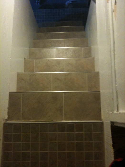... Stair Tiling Problem Img_0636 ...