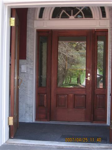 Install Used Wood French Doors Windows And Doors Diy