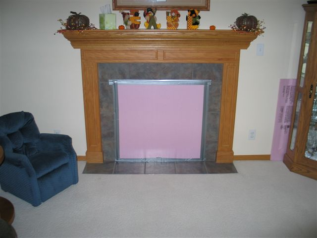 Direct Vent Fireplace Winterizing General Diy Discussions Diy