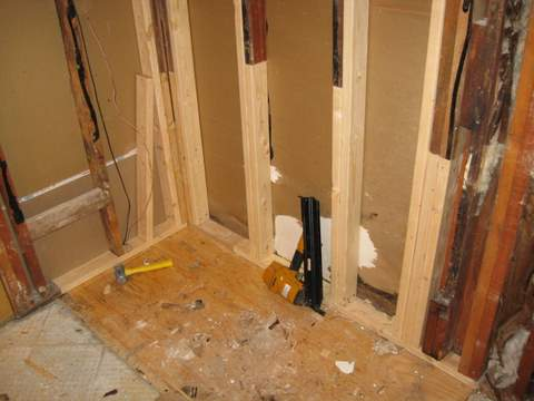 Rotted Sole Plate In Bathroom Carpentry Diy Chatroom Home Improvement Forum
