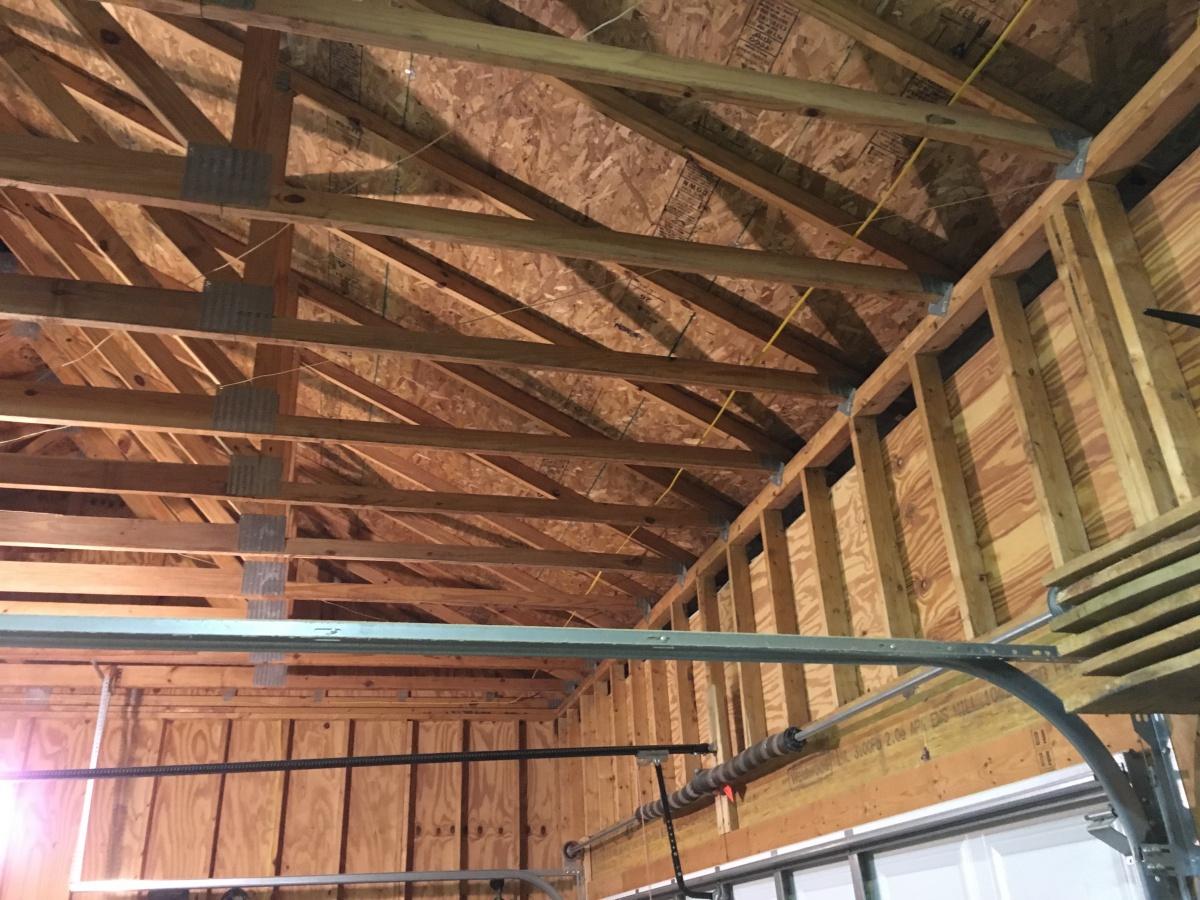 Garage Storage Loft - Building & Construction - DIY ...