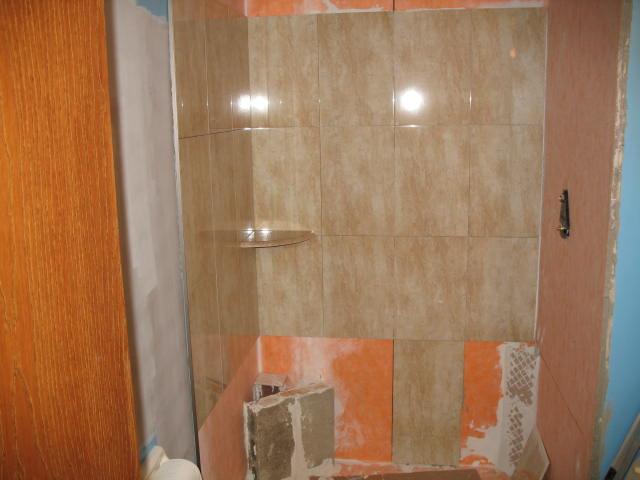 tiling tubshower surround wplaster u0026amp - Shower Surround