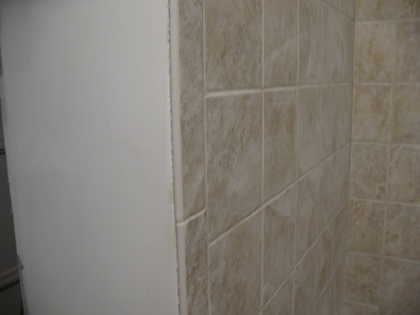 Tile To Outside Corner - Cleaning Up Edge - Kitchen & Bath ...