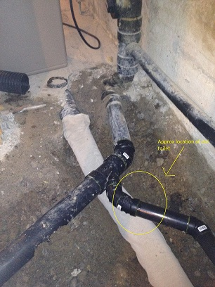"3"" ABS toilet flange 3 1/2"" too high in basement floor-img_0881.jpg"