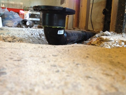 "3"" ABS toilet flange 3 1/2"" too high in basement floor-img_0882.jpg"