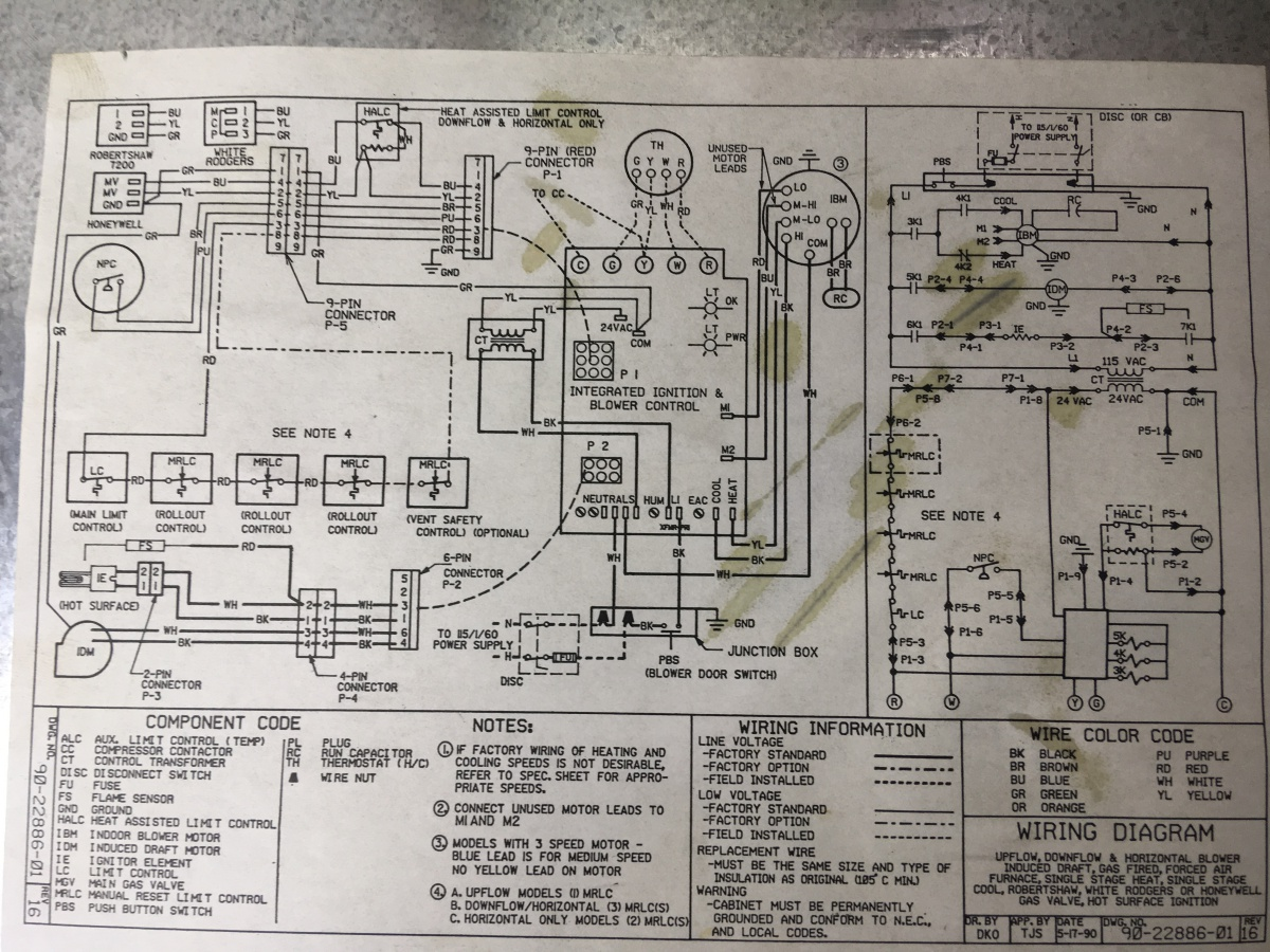Rudd Wiring Diagram