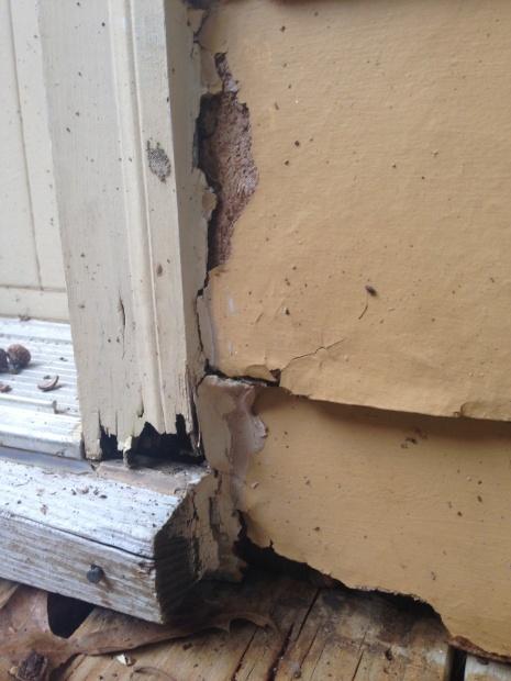 Rotten Siding Trim Roofing Siding Diy Home Improvement
