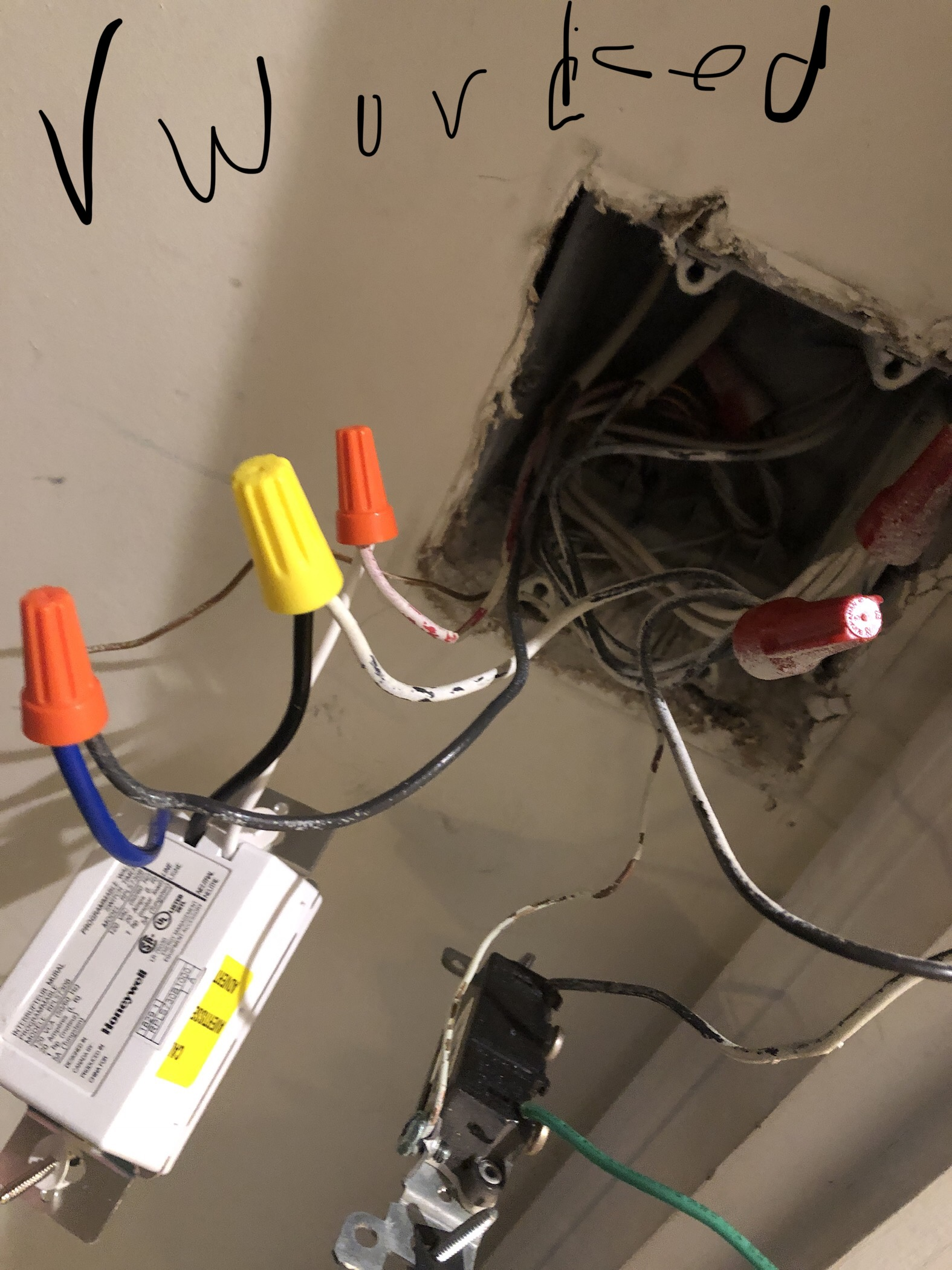 electrical - How do I replace a single pole light switch