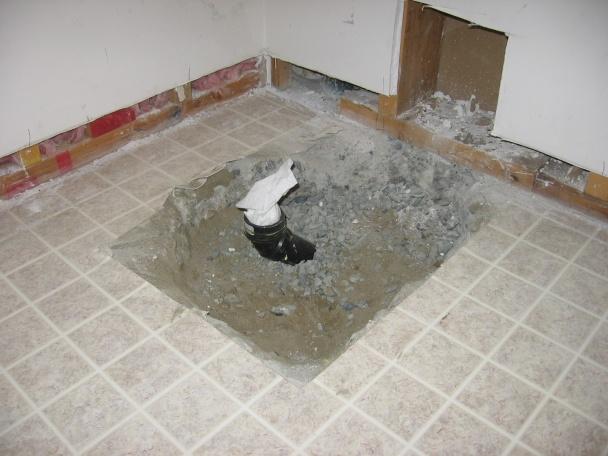shower pan soft around drain-img_1106.jpg