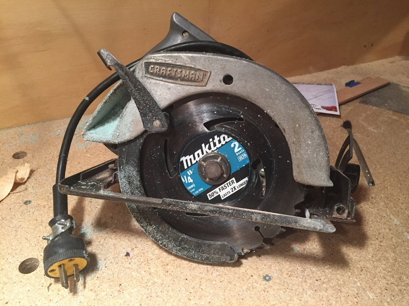 Removing blade from old craftsman circular saw tools page 2 attachment 260857 keyboard keysfo Choice Image