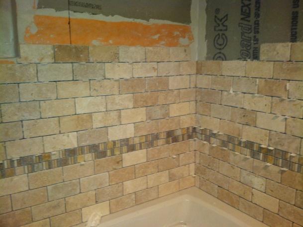 Completely new Inside Corner And Subway Brick Pattern Tile - Tiling, ceramics  FX38