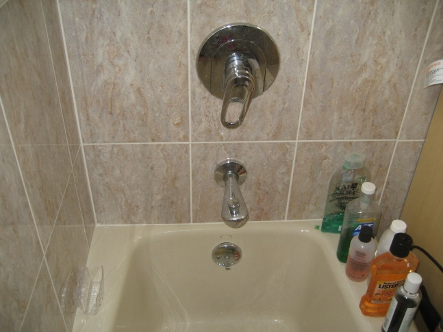 bathroom bathtub faucet wont shut off completly think i need