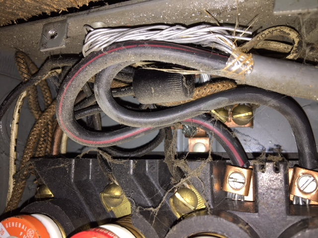 small fuse box wiring aluminum wiring with no ground and a small fuse box electrical  ground and a small fuse box