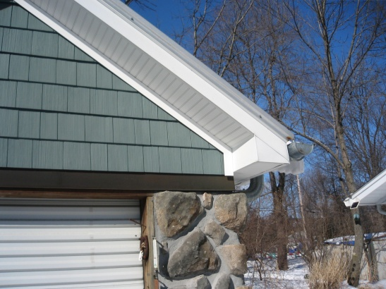 Gutters And Decorative Trim On Fascia Roofing Siding