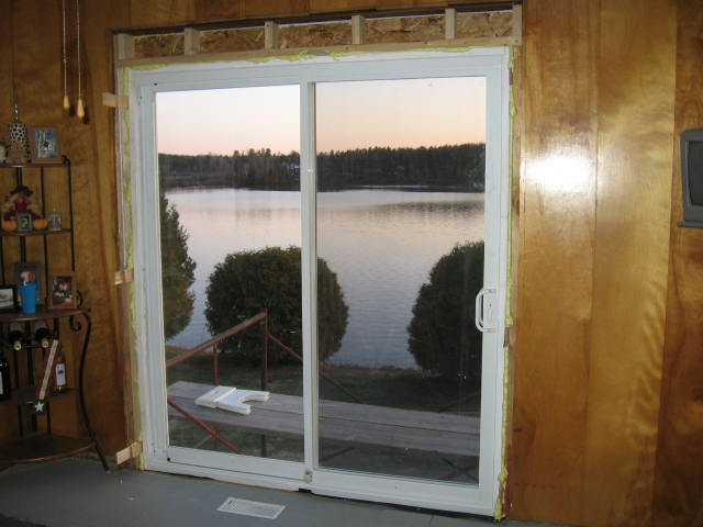 Sliding Patio Door Installation Building Construction Diy
