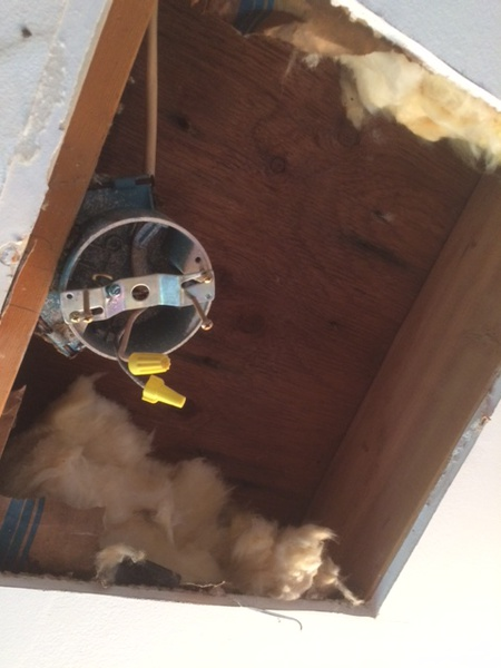 Bath Exhaust Fan In Vaulted Ceiling Assistance HVAC DIY