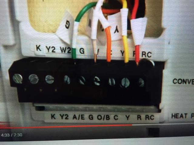 Thermostat Installation Question - Hvac