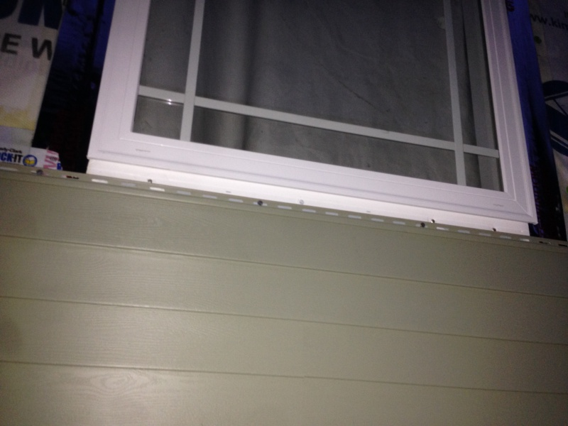 Fitting Siding Under Window With Built In J Channel