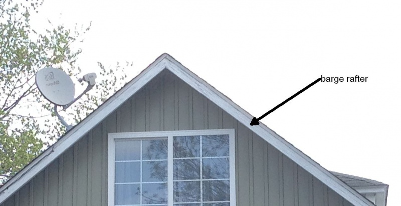 Coil Wrapping Barge Rafters Roofing Siding Diy Home