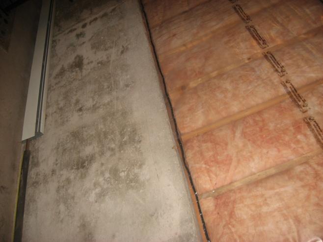 Basement Wall Framing basement wall framing with baseboard heaters - building