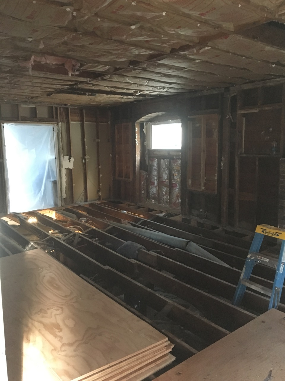 Leveling A Wood Floor In An Old House Mycoffeepot Org