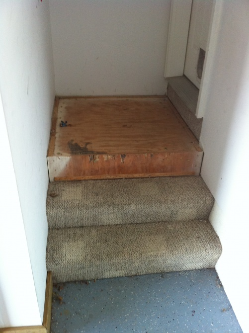 How To Finish Basement Stairs Img_1565 ...